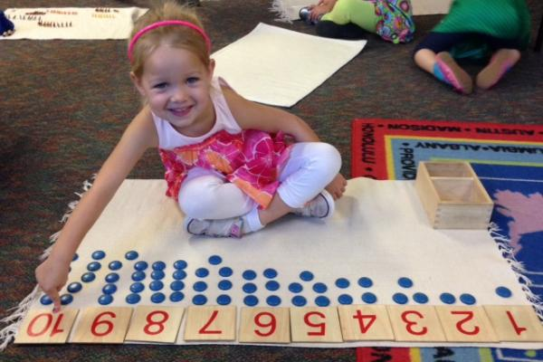 The benefits of sending children to Montessori school